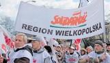 Protest pod Sejmem - Wielkopolska Solidarność też tam była