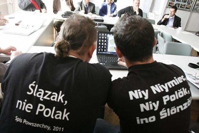 Koszulki mówią same za siebie