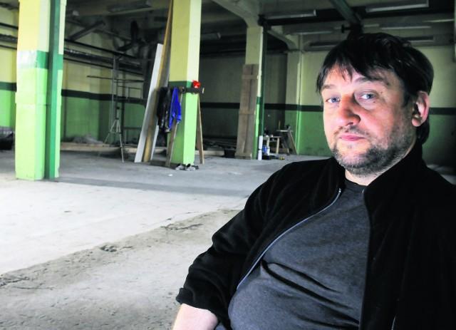 Jacek Żakowski, jeden z szefów Alchemii, chce ożywić przemysłowe budynki na Zabłociu