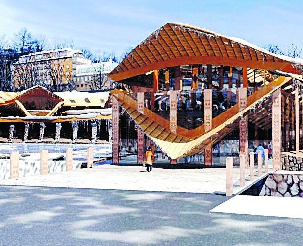 Sala wielofunkcyjna, która ma stanąć na placu pod Gubałówką na duże szanse na szybką realizację