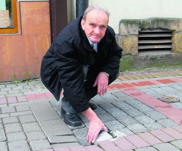 Tadeusza Firczyka denerwują fuszerki ekipy remontowej