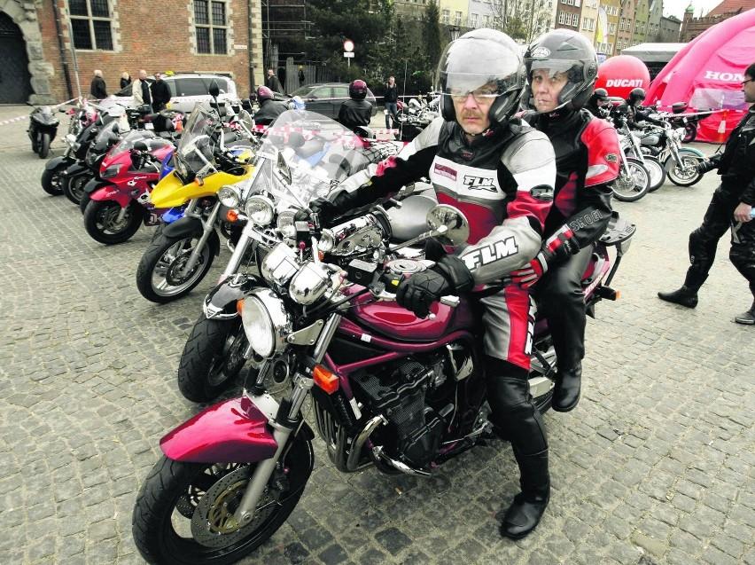 Akcję zbierania krwi zorganizowali motocykliści