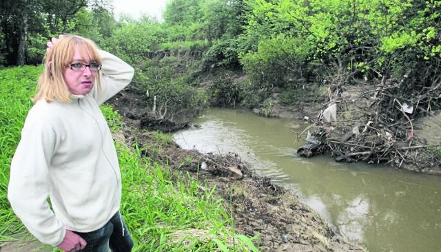 Anna Olejarnik straciła większość dorobku życia. Ciągle żyje w strachu przed rzeką