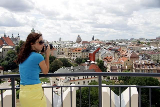 Taras widokowy na Zamku Lubelskim czeka na zwiedzających