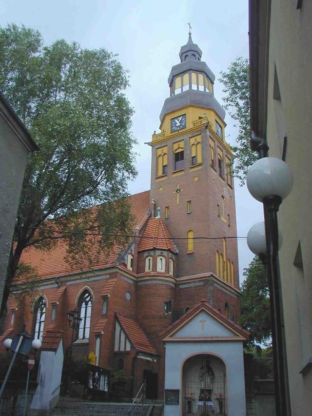 Fotokod zostanie umieszczony na  kościele przy Rynku