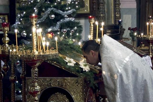 Prawosławne Boże Narodzenie w Łodzi