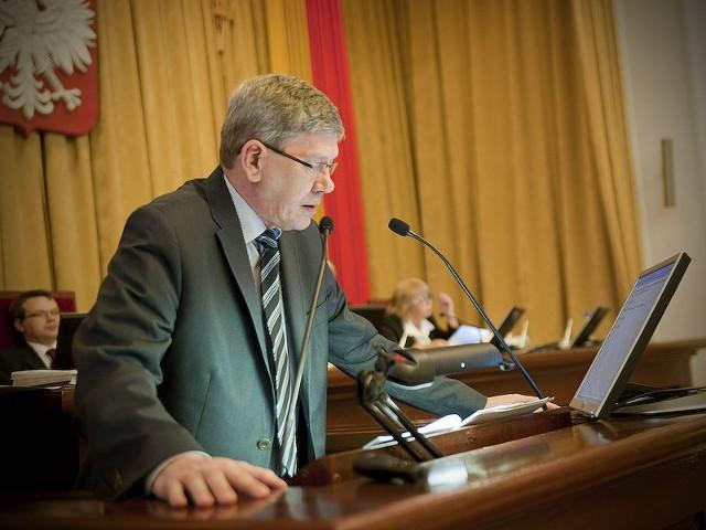 Z przewodnictwa komisji rewizyjnej Rady Miejskiej w Łodzi zrezygnował Władysław Skwarka