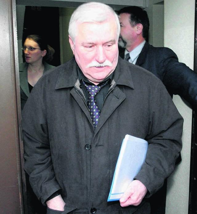 Lech Wałęsa o dostęp do swoich akt z IPN walczył w sądzie od 2009 roku