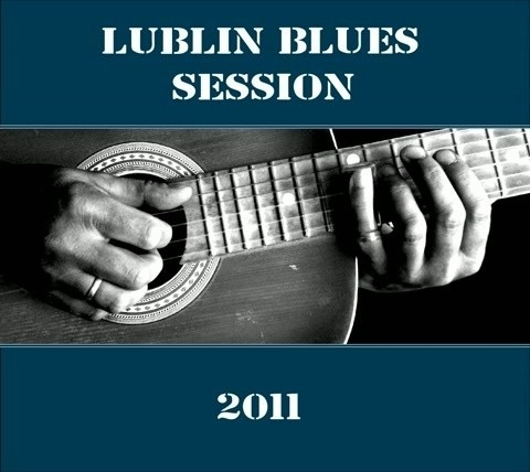 "Okładka płyty ""Lublin Blues Session"""
