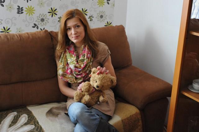 Karolina Wojtaś ze Starogardu Gd. dyktafon ukryła w ulubionym misiu syna