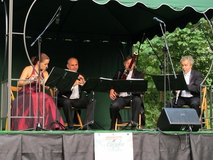 W zeszłym tygodniu mogliśmy usłyszeć pieśni patriotyczne, między innymi w wykonaniu kwartetu Aulos.
