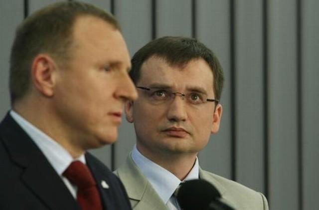 Zbigniew Ziobro nie czuje się pewnie przy Jacku Kurskim