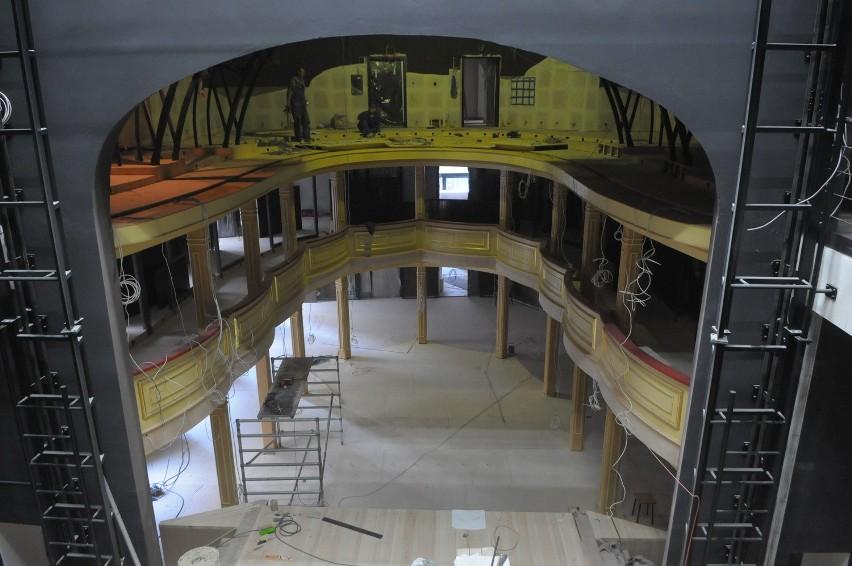 Wnętrze Teatru Starego po remoncie