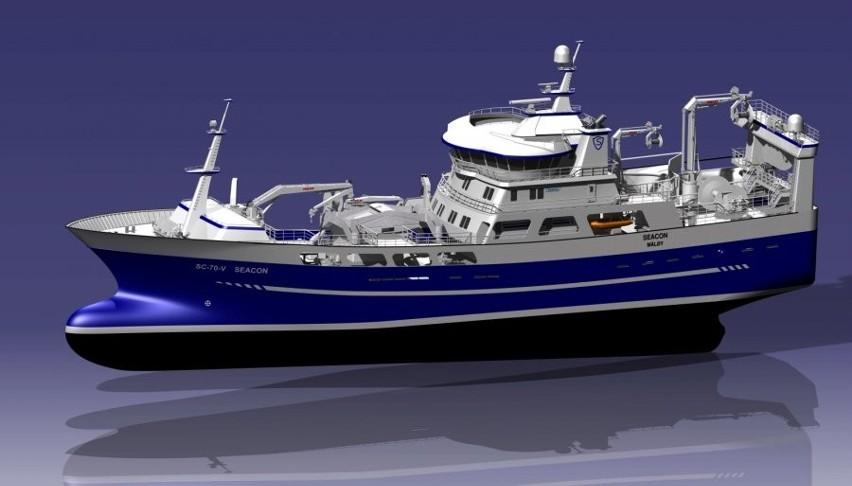 Gdynia: Stocznia Remontowa Nauta podpisała kontrakt na budowę kadłuba trawlera