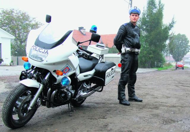 Policjanci z drogówki muszą jeszcze poczekać na szybkie motory