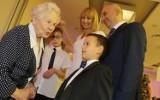 Toruń. Adela Kulczyńska-Pietraszek skończyła sto lat! Uhonorował ją prezydent Torunia i marszałek województwa [zdjęcia]