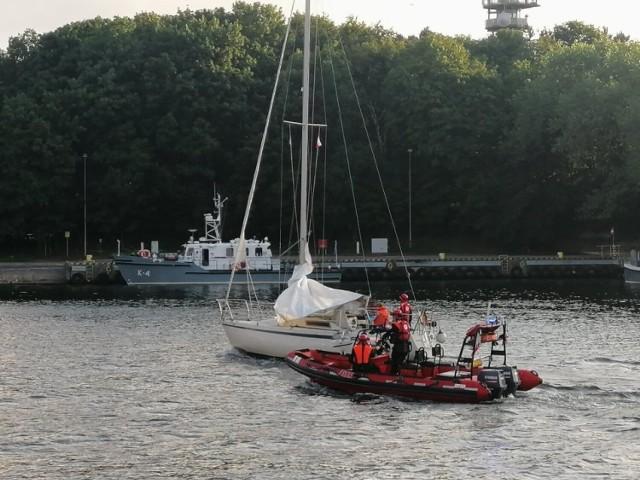 Trwają poszukiwania żeglarza