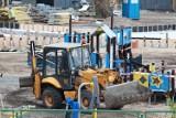 Trwa przebudowa przystani przy ul. Płockiej we Włocławku. Wykonawca ma czas tylko do końca 2021 roku [zdjęcia]
