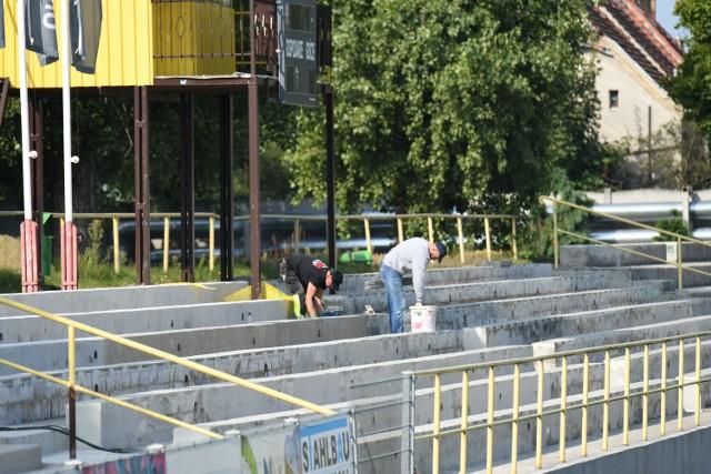 Remont stadionu Promienia Żary