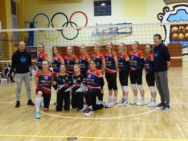 W pierwszym meczu półfinałowym gdańszczanki pokonały zespół z Chełmna