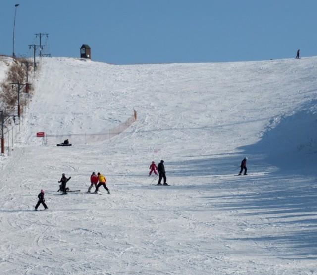 Na stacji narciarskiej Cisowa są dwie trasy; łatwa i średnia