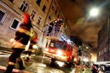 Młynów: Spłonęła hala z tekstyliami