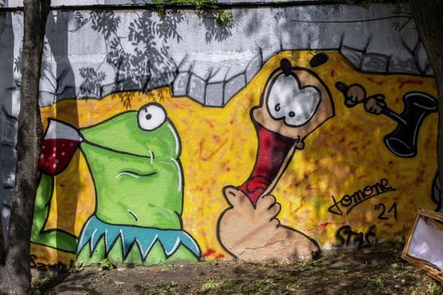W Zespole Szkół Budowlano - Drzewnych w Poznaniu odbył się w sobotę Festiwal Graffiti. Przejdź do kolejnego zdjęcia --->