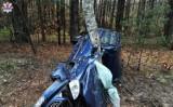 Macoszyn Duży. Samochód wjechał w drzewo, kierowca zginął na miejscu
