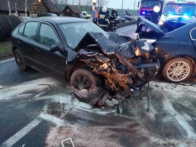 W zderzeniu, do którego doszło w grudniu w Stopce pod Koronowem, uczestniczyły trzy auta. Za kierownicą jednego siedział funkcjonariusz SW z Koronowa. Miał prawie 0,5 prom. alkoholu