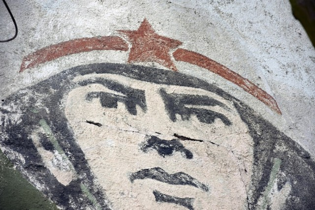 Ostatni posowiecki mural w Legnicy, ma już 26 lat