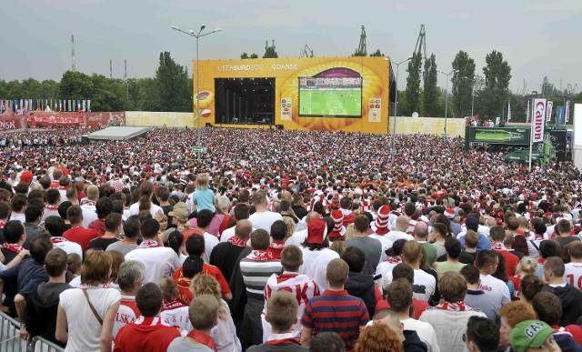 W strefie kibica w Gdańsku w przerwach meczów odbywają się koncerty