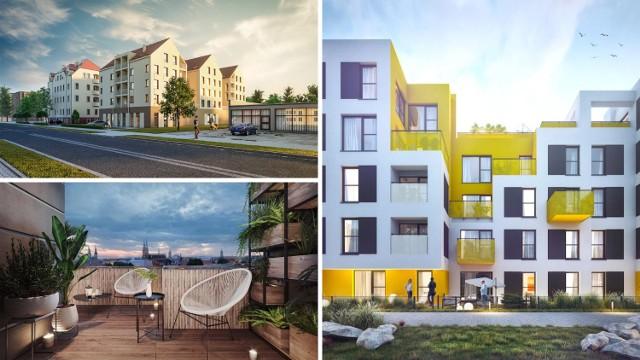 Obejrzyj galerię zdjęć i dowiedz się, jakie inwestycje mieszkaniowe powstają w Legnicy, ile kosztują mieszkania w nowych apartamentach i gdzie są zlokalizowane.   Przejdź do kolejnego zdjęcia za pomocą kursora, strzałki lub przycisku NASTĘPNE.
