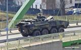 Taki przejazd wojska w Darłowie, w stronę Koszalina [27.03.2020 r.]  - ZDJĘCIA