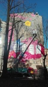 Pierwszy dziecięcy mural w Łodzi