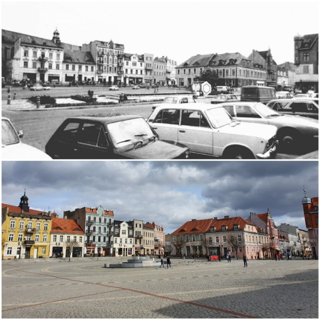Gniezno kiedyś i dziś. Zobacz, jak się zmieniło przez ponad 30 lat!