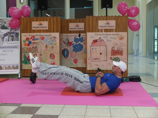 Trening z klubem Condizione Fitness