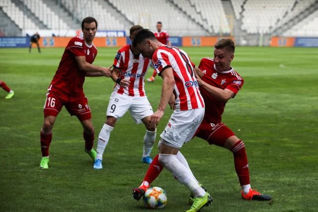 Cracovia zagrała 30 lipca sparing z Górnikiem, wygrywając 3:1