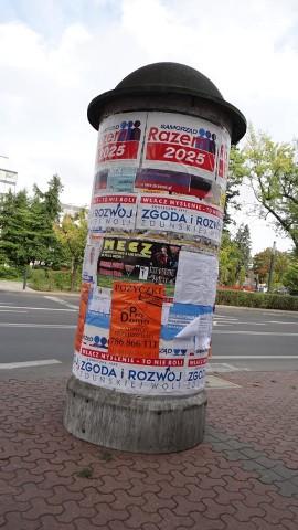 Plakaty Wyborcze Można Wieszać Tylko W Wyznaczonych
