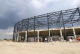 Sosnowiec: Tak powstaje stadion, hala sportowa i lodowisko. Zagłębiowski Park Sportowy ma już adres i numer porządkowy