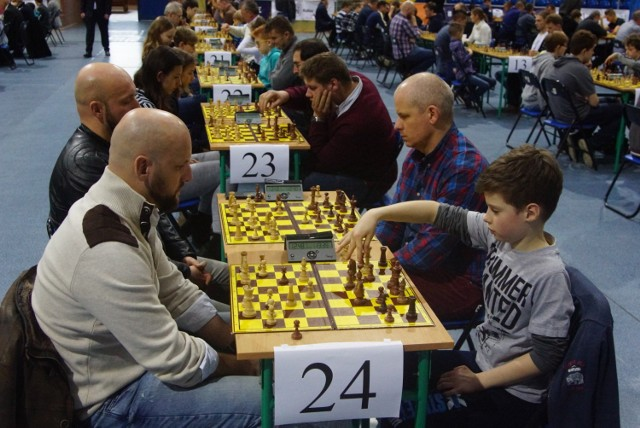 VII Ogólnopolski Turniej Szachów Rodzinnych w Kaliszu MTM Cup