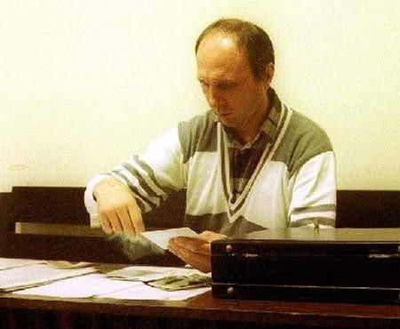 Grzegorz Niedźwiecki już raz stanął przed sądem za kontrowersyjne publikacje w swoim biuletynie. Fot. M. Komorowski
