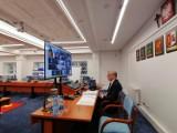 Na sesji Rady Powiatu Gdańskiego o zmianach w budżecie, inwestycjach drogowych, odśnieżaniu dróg i chodników