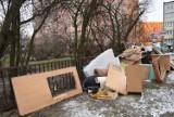PSZOK w Kaliszu działa, ale mieszkańcy nadal wyrzucają gabaryty na osiedlach ZDJĘCIA