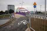 Kładka dla rowerów przy moście Narutowicza w Rzeszowie gotowa
