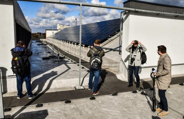Za kilka dni rusza instalacja fotowoltaiczna na dachu bydgoskiej Astorii.