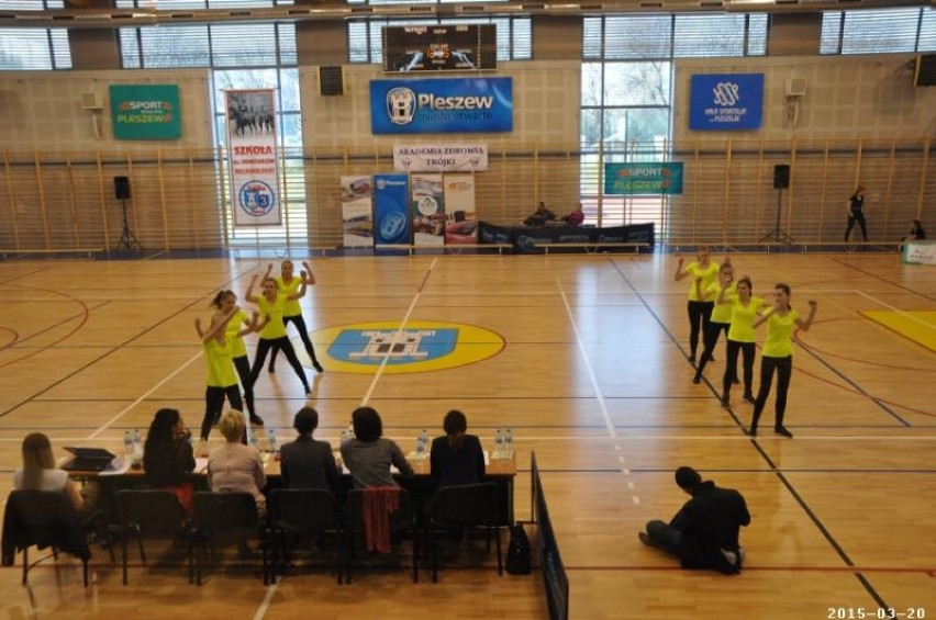 Turniej Aerobiku Grupowego strefy Kalisz w ZSP nr 3 w...