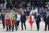 Katowice: Prezydent Andrzej Duda na obchodach setnej rocznicy III Powstania Śląskiego. Zobacz zdjęcia