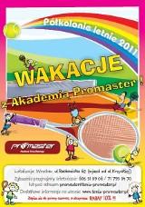 Półkolonie tenisowe z Akademią Tenisa Ziemnego Promaster