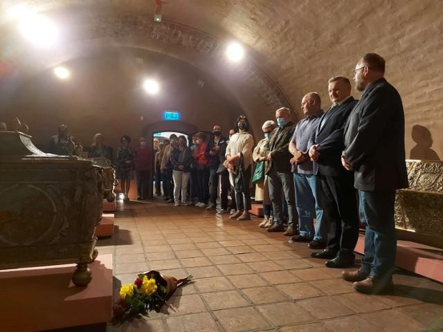 """""""Z Sierakowa pod Chocim. W 400. rocznicę zwycięstwa"""" - w Muzeum Zamek Opalińskich odbył się wernisaż nowej wystawy czasowej (3.09.2021)."""