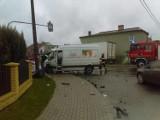 Wypadek w Jankowie Pierwszym. Ciężarówka wjechała w dom [FOTO]